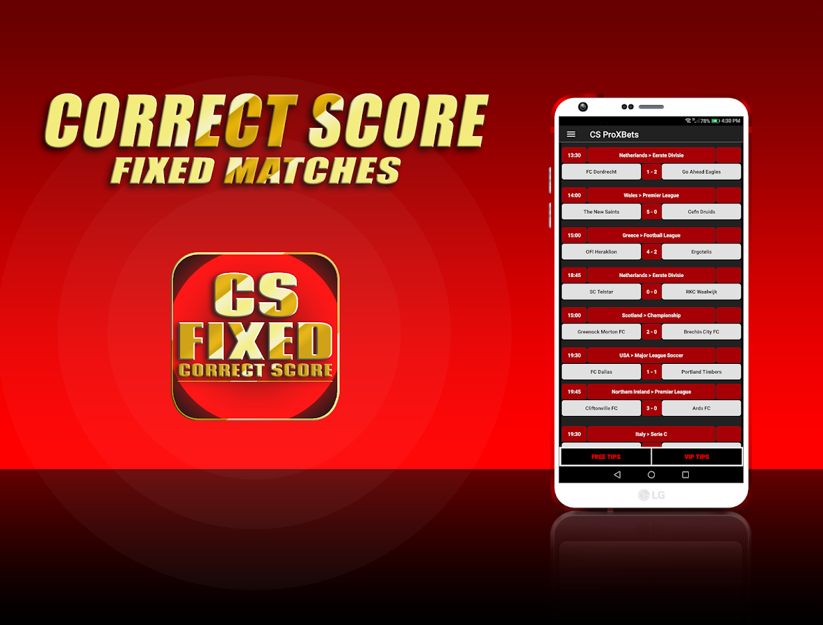 CS Correct Score FIXED Betting Tips: ProXBets Bets 2 0 APK