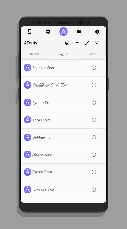 Fonts for Samsung & Huawei (AFonts) 4 5 APK Download