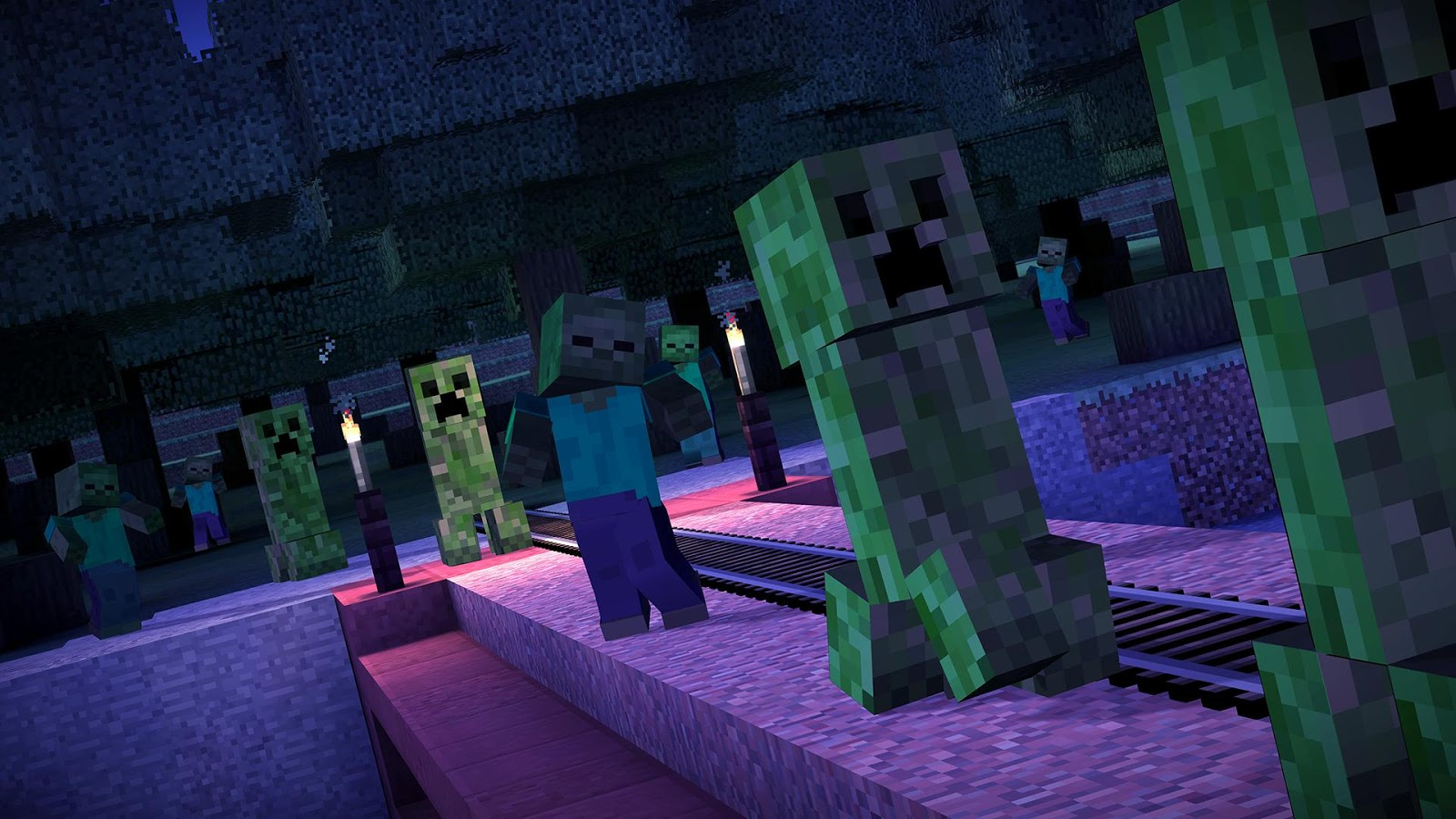 Minecraft: Story Mode 1 37 APK Download - Android Adventure