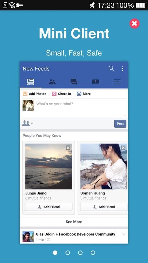 ... FaceLyt For Facebook Lite screenshot 9 ...