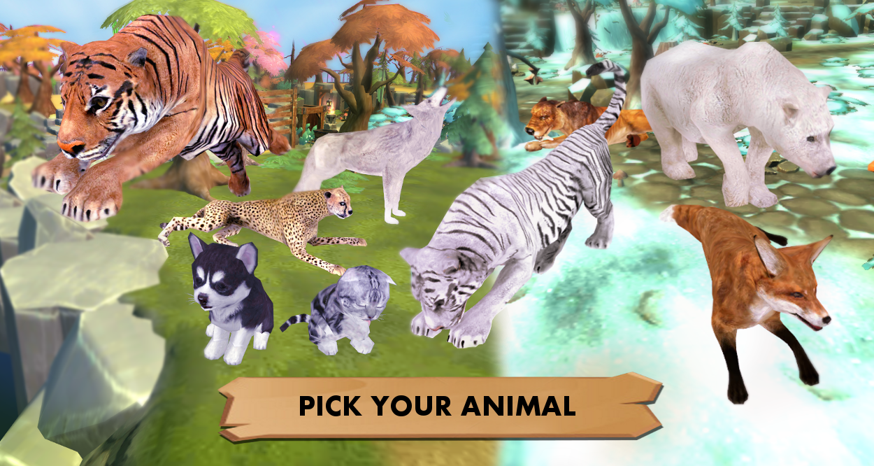 My Wild Pet: Online Animal Sim 2 8 APK Download - Android Casual Games