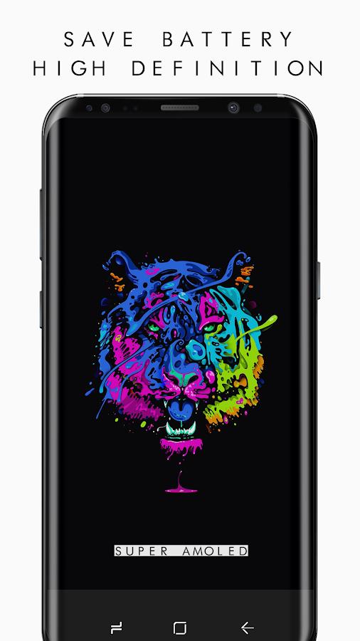 Pixel 3 Super AMOLED Wallpapers PRO (2960x1440) 2 APK