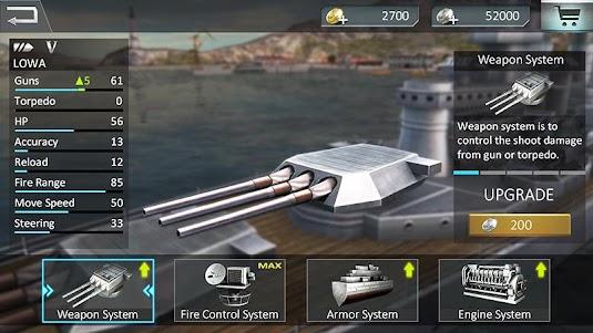 Warship Attack 3D 1.0.6 screenshot 3