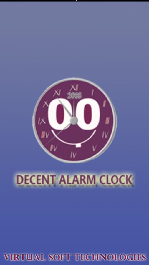 Decent Alarm Clock 1 0 APK Download - Android Tools Apps