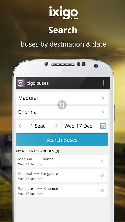 ixigo Bus Volvo Ticket Booking 1 3 2 APK Download - Android