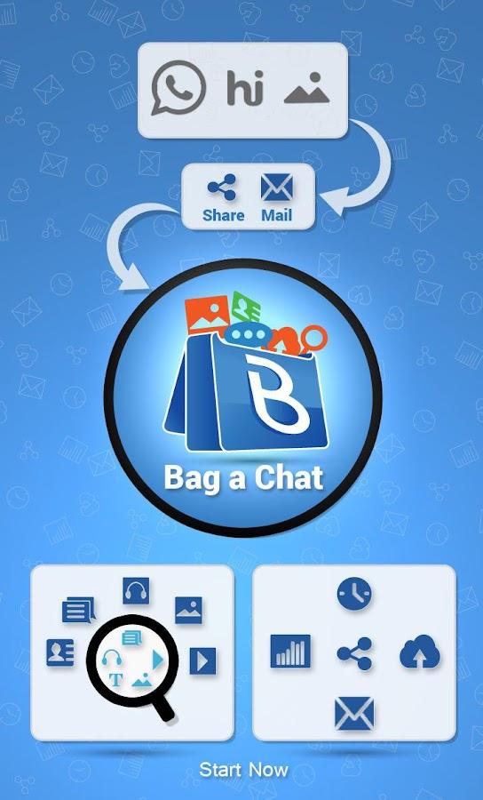Bag A Chat For Whatsapp Hike