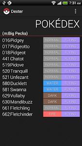 Pokedex - Dexter 2.6.1 screenshot 3