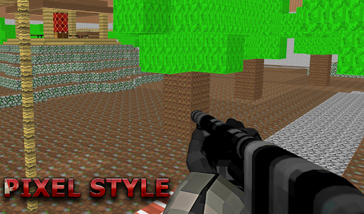 Multicraft Pixel Cs 3 Go 1.9 screenshot 3