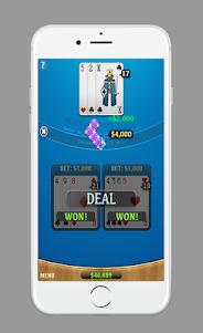 Blackjack AJ 1.0 screenshot 3