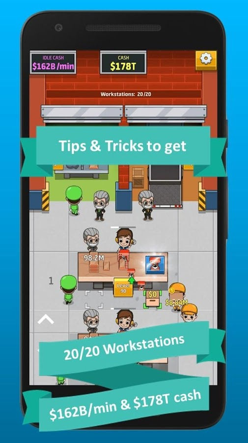 Idle Factory Tycoon Tips 2 1 APK Download - Android