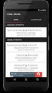 Campeonato Alemão 2017/2018 1.0.9 screenshot 1
