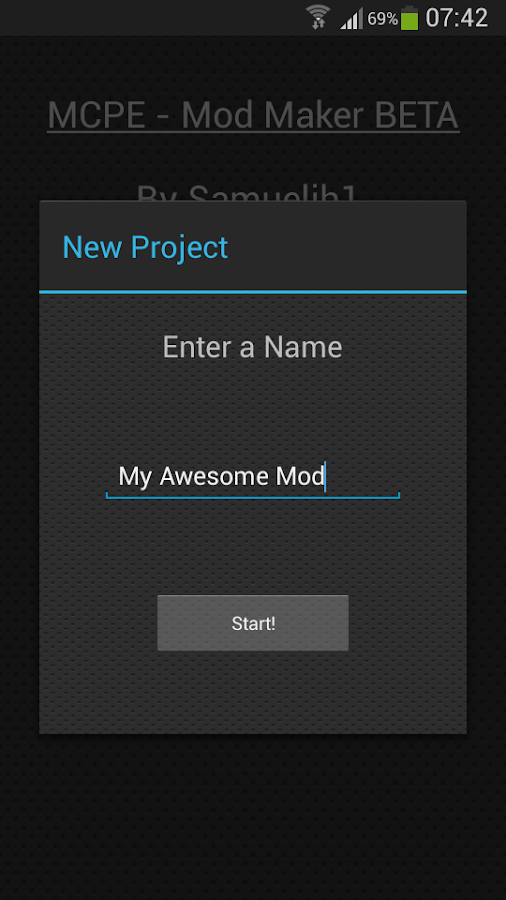 Mcpe mod maker beta 420 apk download android tools apps mcpe mod maker beta 420 screenshot 2 stopboris Gallery