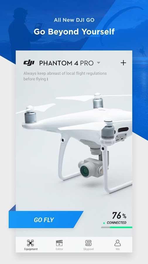 DJI GO 4--For drones since P4 4 3 24 APK + OBB (Data File