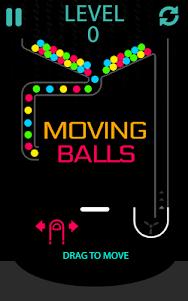 Moving Balls Bouncy 1.2 screenshot 1