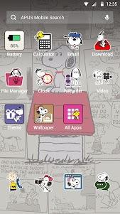Snoopy theme for APUS 2 screenshot 2