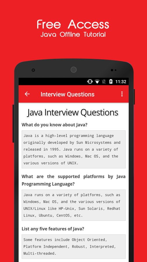 Java Offline Tutorial 1 4 APK Download - Android Education Apps