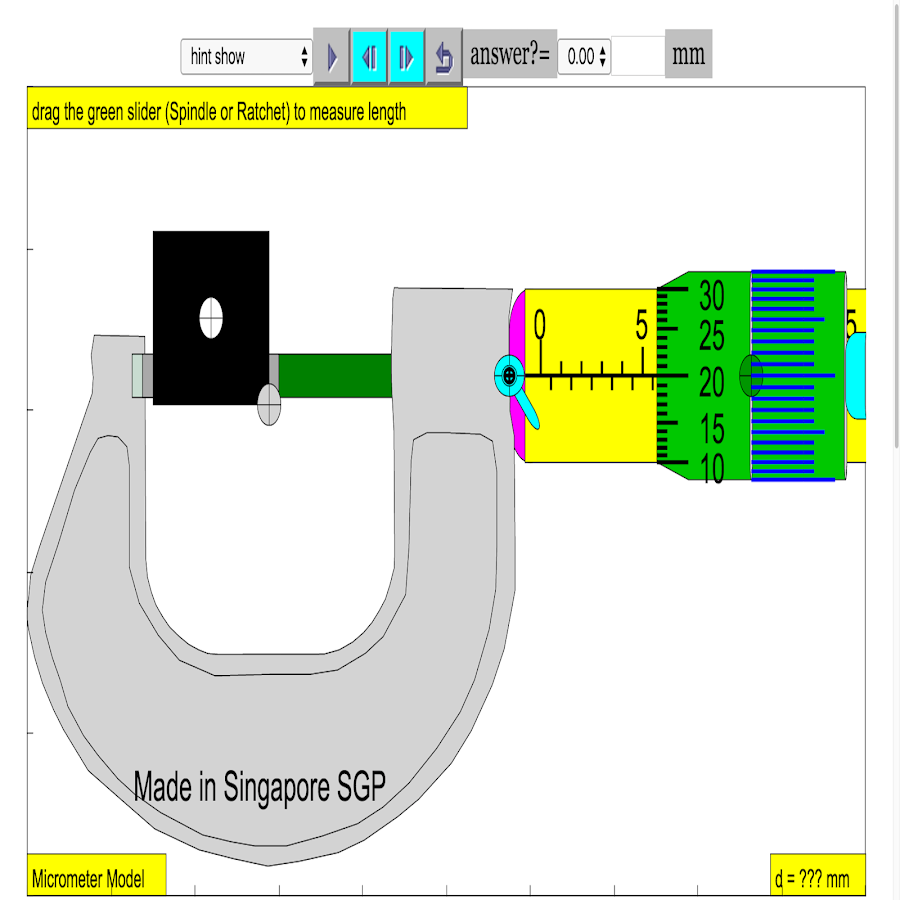 Micrometer Simulator 0 0 11 APK Download - Android Education Apps