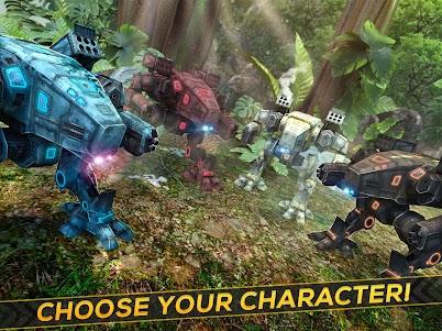 Dino-Robot! Future War 3D Game 1.0.0 screenshot 6