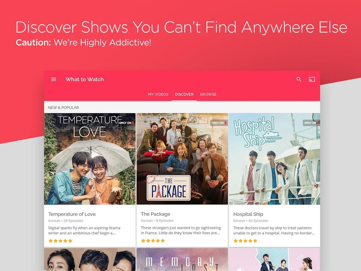 DramaFever: Stream Asian Drama Shows & Movies 01 01 69 APK Download