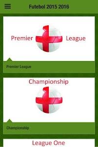 Futebol 2015-16 App português 1.0 screenshot 7