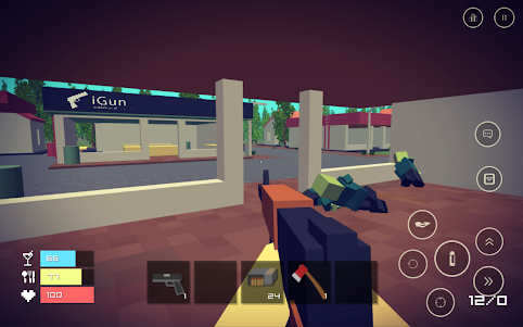 Pixel Day - Unturned Z 1.03 screenshot 8
