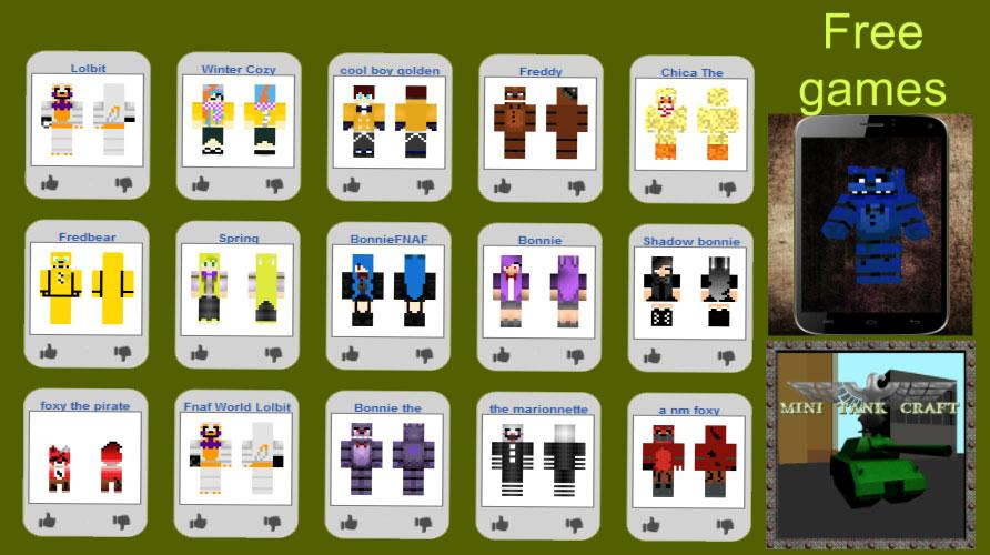 Skin & Map FNAF for Minecraft 1 0 APK Download - Android