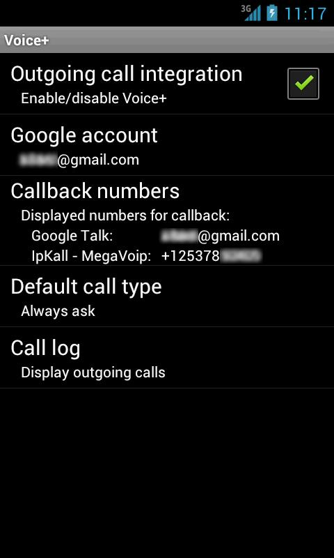 Voice+ (Google Voice callback) 1 75 APK Download - Android