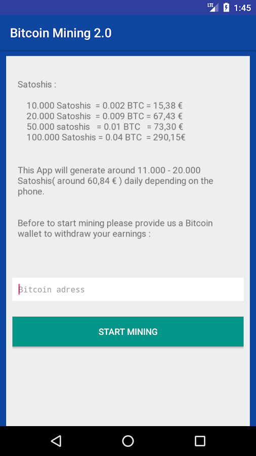 Bitcoin Miner 2 0 1 0 APK Download - Android Tools Apps