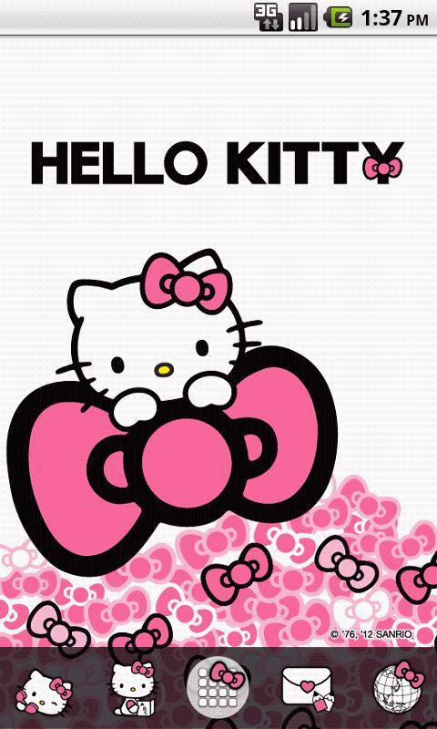 Hello Kitty Sweet Pink Bow 1 0 Apk Download Android