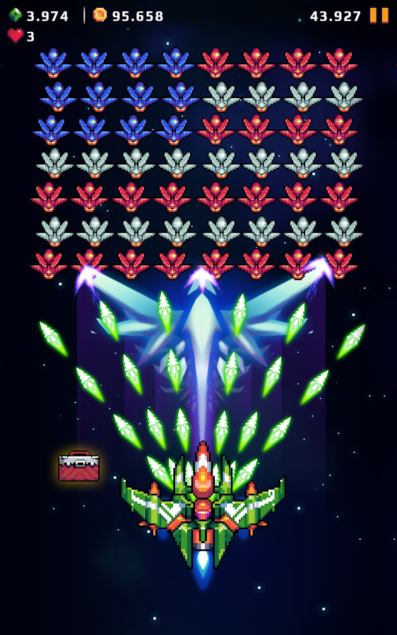 Galaxy Shooter - Falcon Squad APK Download - Android Arcade