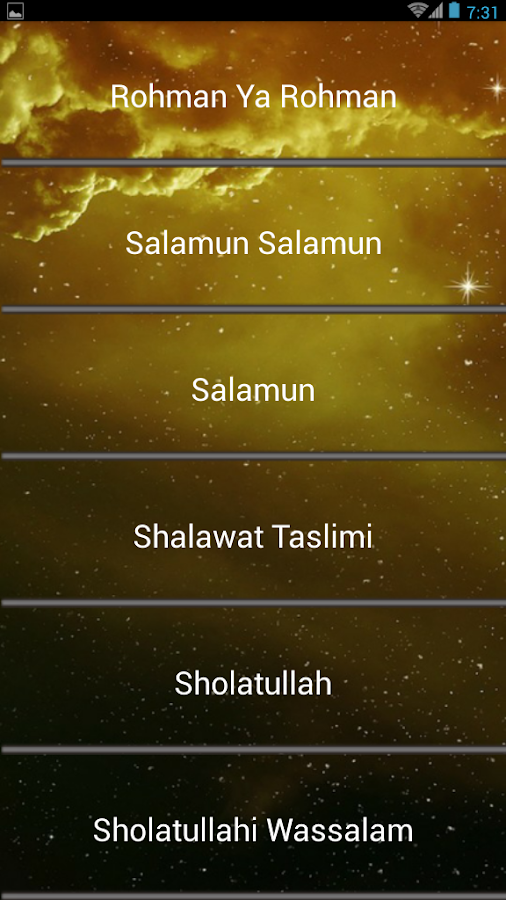 Islamic Songs Al-Muqtashidah 2 1 0 APK Download - Android