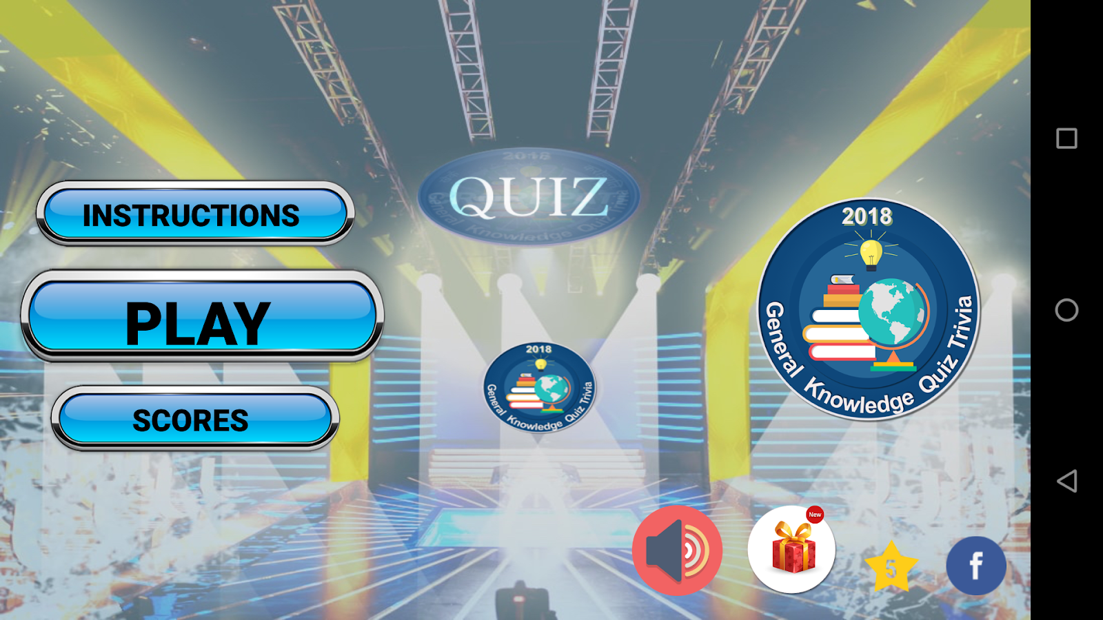 Quizly:General Knowledge Trivia Quiz India 2018 GK 1 0 0 APK