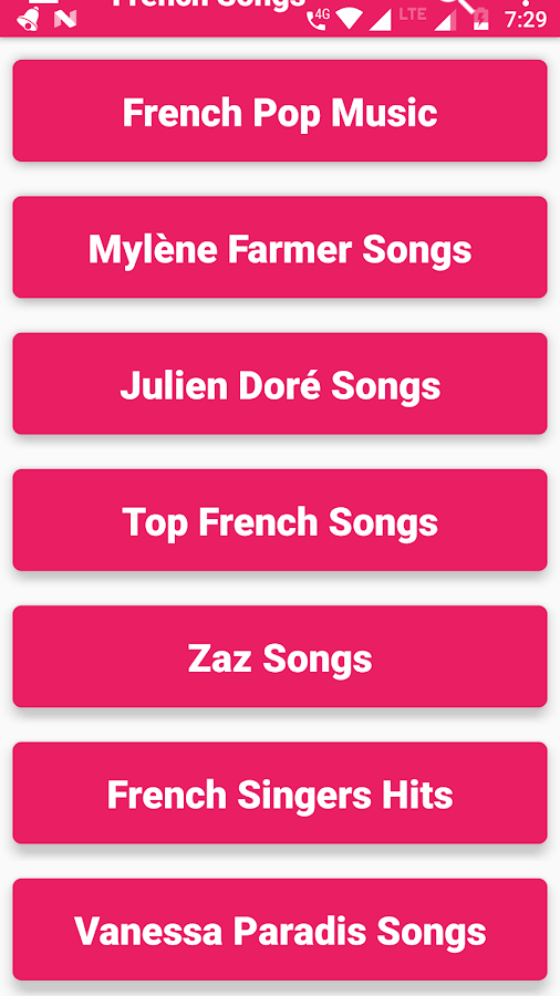 French Songs & Music Videos : New, Top, Hit, Best 1 0 2 APK