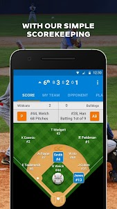 GameChanger Baseball & Softball Scorekeeper 7.2.0.0 screenshot 1