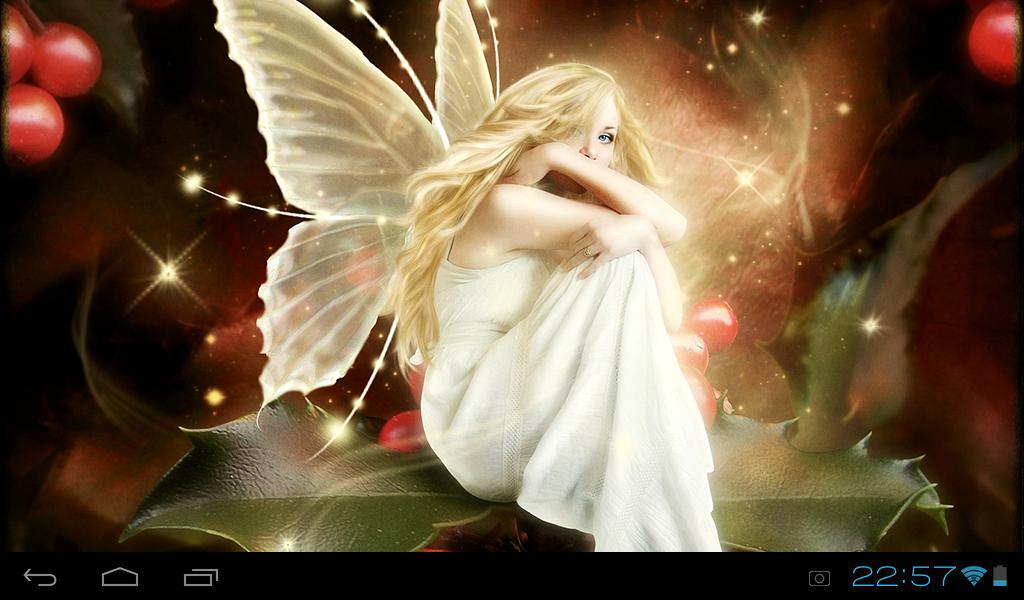 Lovely Fairies Live Wallpaper 10 Screenshot 3