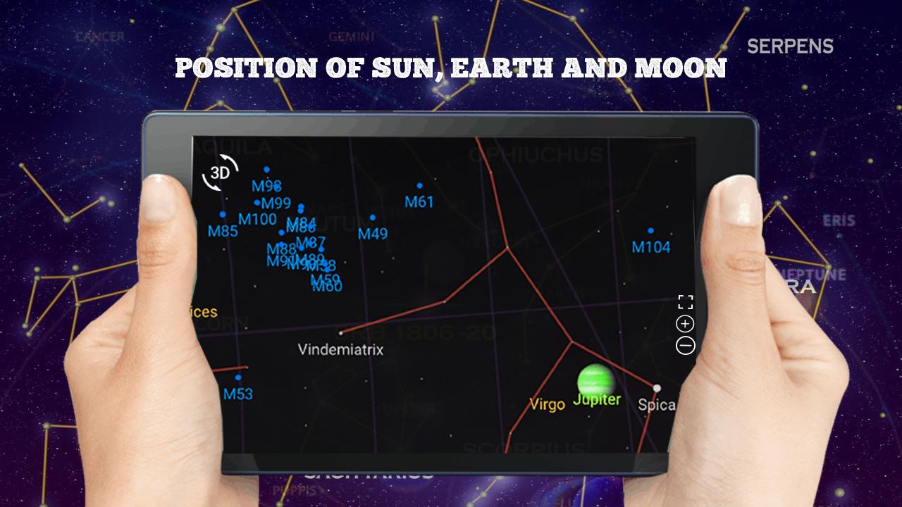 Sky Map Free Live Star Guide Moon Calendar 2018 1 5 Apk Download