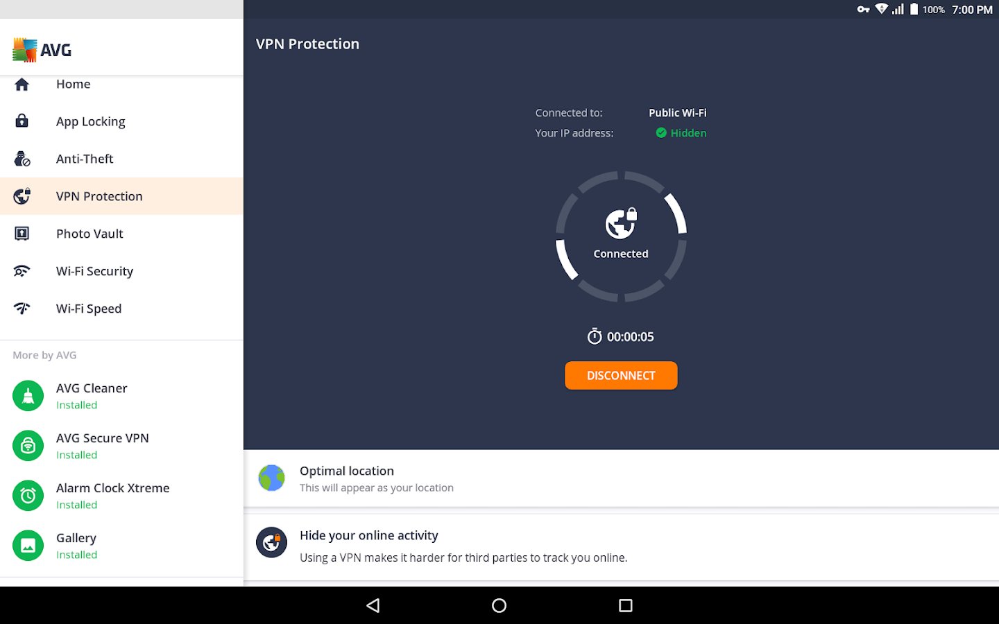 avg protection for xperia cracked apk