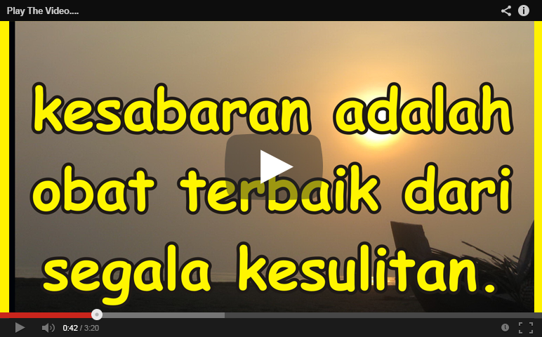Kata Kata Mutiara Video Cikimm Com