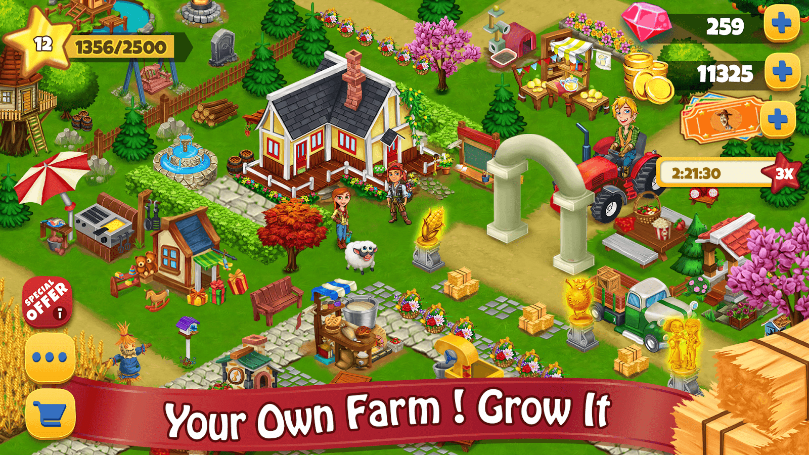 com bag farm day village farming games 1 2 18 APK Download