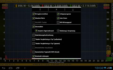 SolarAnalyzer Pro for Android™  screenshot 5