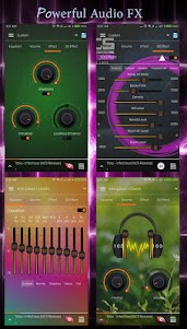 S+ Music Player 3D - Equalizer, Visualizer, Themes 1.4.3 screenshot 2
