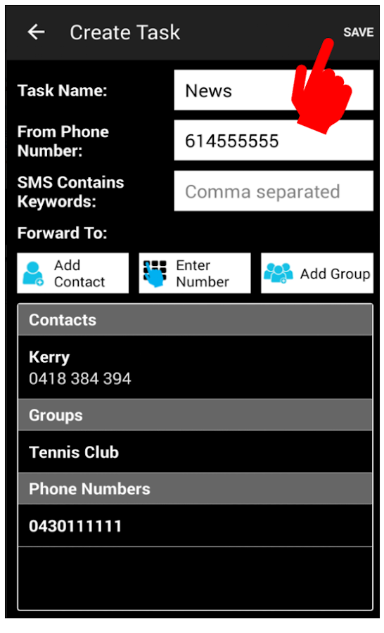 Auto Forward SMS PLUS+ version 3 3 APK Download - Android