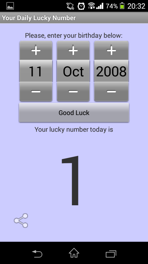 Your Daily Lucky Number 1 4 APK Download - Android Entertainment Apps