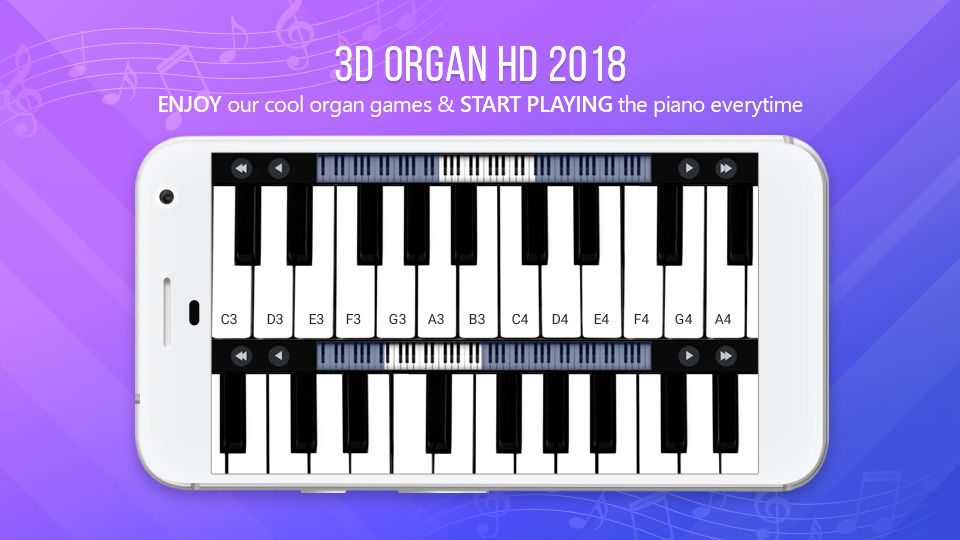3D ORG - Org Keyboard Music, 3D Piano 1 0 1 APK Download