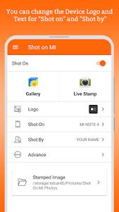 ShotOn for Mi: Add Shot on Stamp to Gallery Photo 1.4 screenshot 3