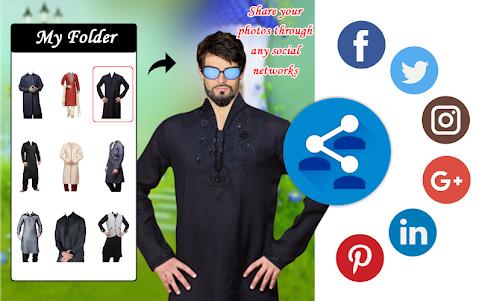 Men Shirt With Tie Photo Suit Maker 1.0.9 screenshot 13