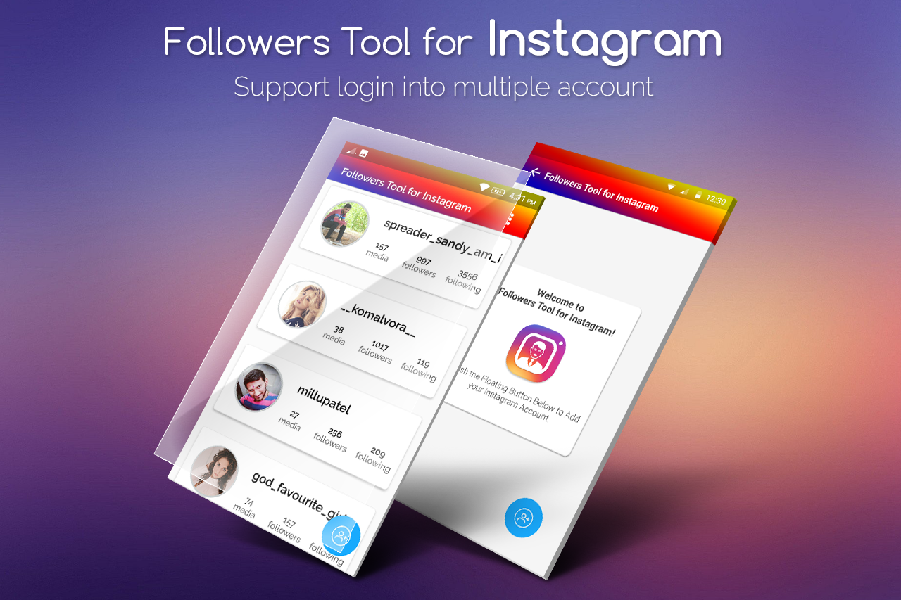 Follower Tools for Instagram / Follower Analyzer 1 0 APK Download