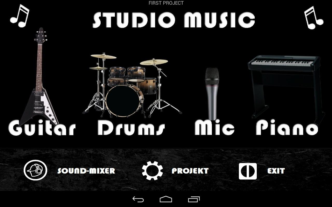 Studio Music Garage Band 1 0 4 2 Apk Download Android Music