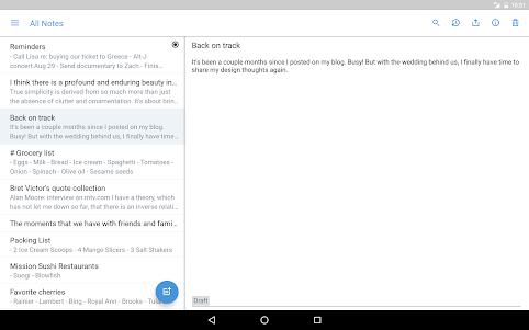 Simplenote 2.15 screenshot 7