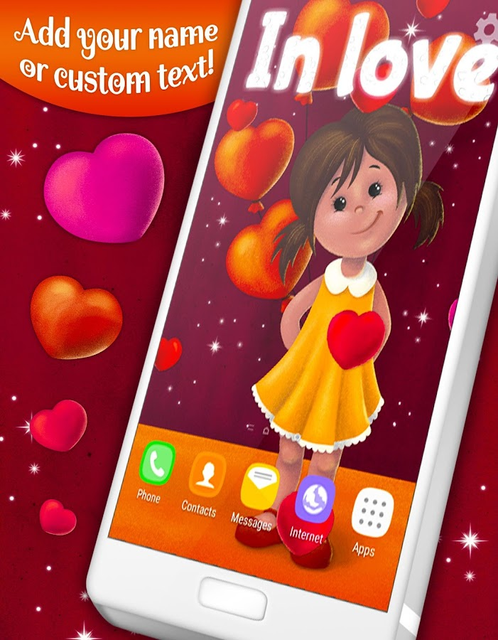 Girl in Love Live Wallpaper 4 12 0 APK Download - Android